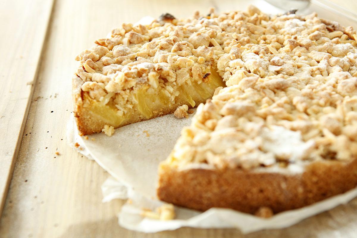 Ananaskuchen mit crumble for Kuchen unterschrank 150 cm