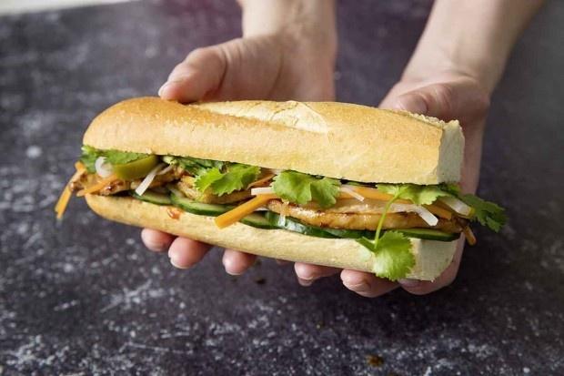 Vietnamesisches Sandwich Banh mi