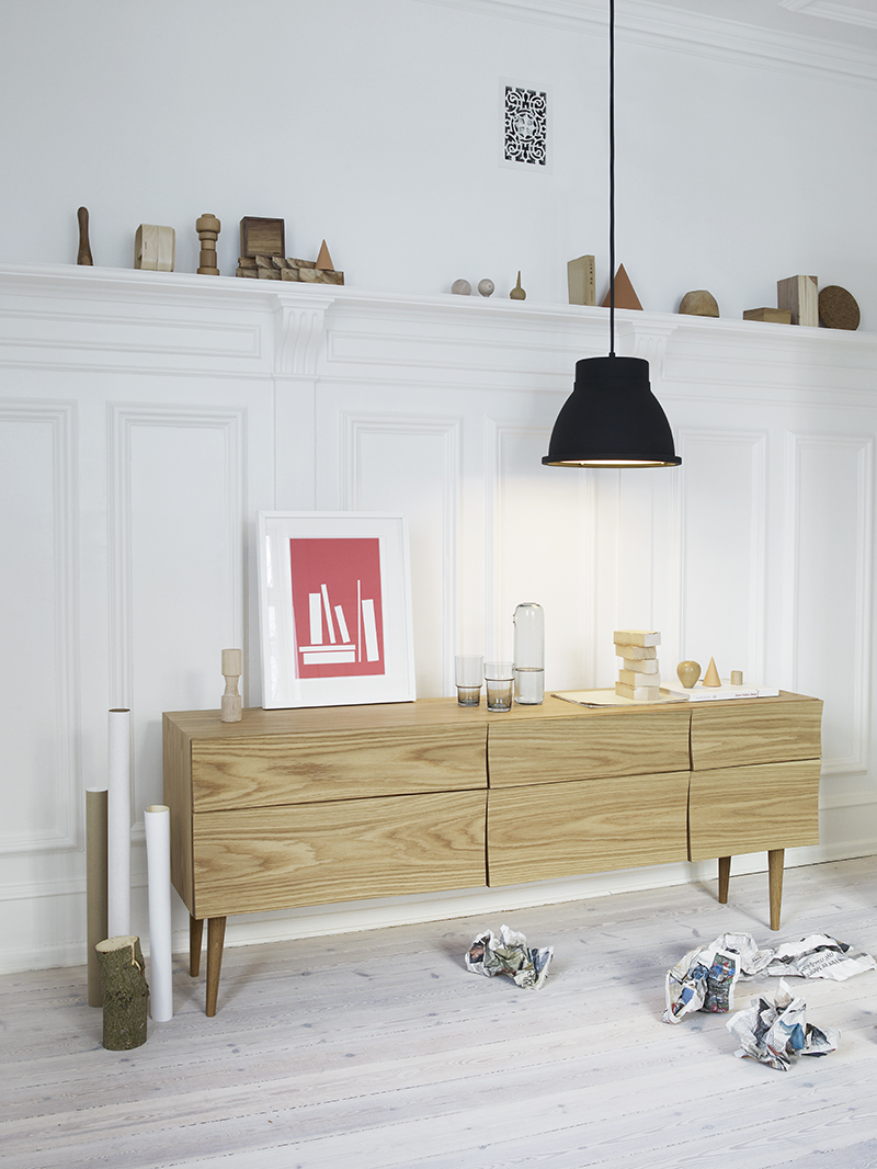Skandinavisches design wohnen for Sideboard nordisch