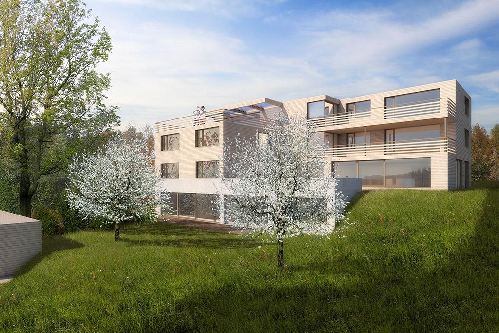 Photovoltaik wohnen for Moderne architektur wohnhaus