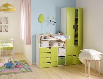 Das STUVA Aufbewahrungssystem von IKEA kann leicht angepasst und erweitert werden. (Foto: www.ikea.ch)
