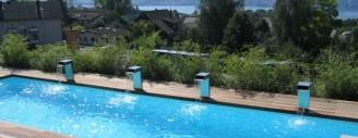 Der Schweizer Markt für den eigenen Pool boomt. Bild: Schwimmbecken von Vivell. (Bildquelle: aqua suisse)