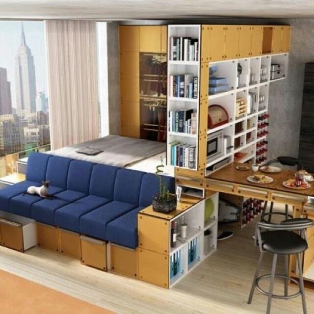 Small Space Living vivre et habiter dans un espace congru  homegate
