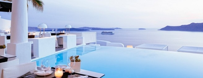 Infinity Pool: Hotel Kirini Anthos, Griechenland. Bild: Kirini Anthos.