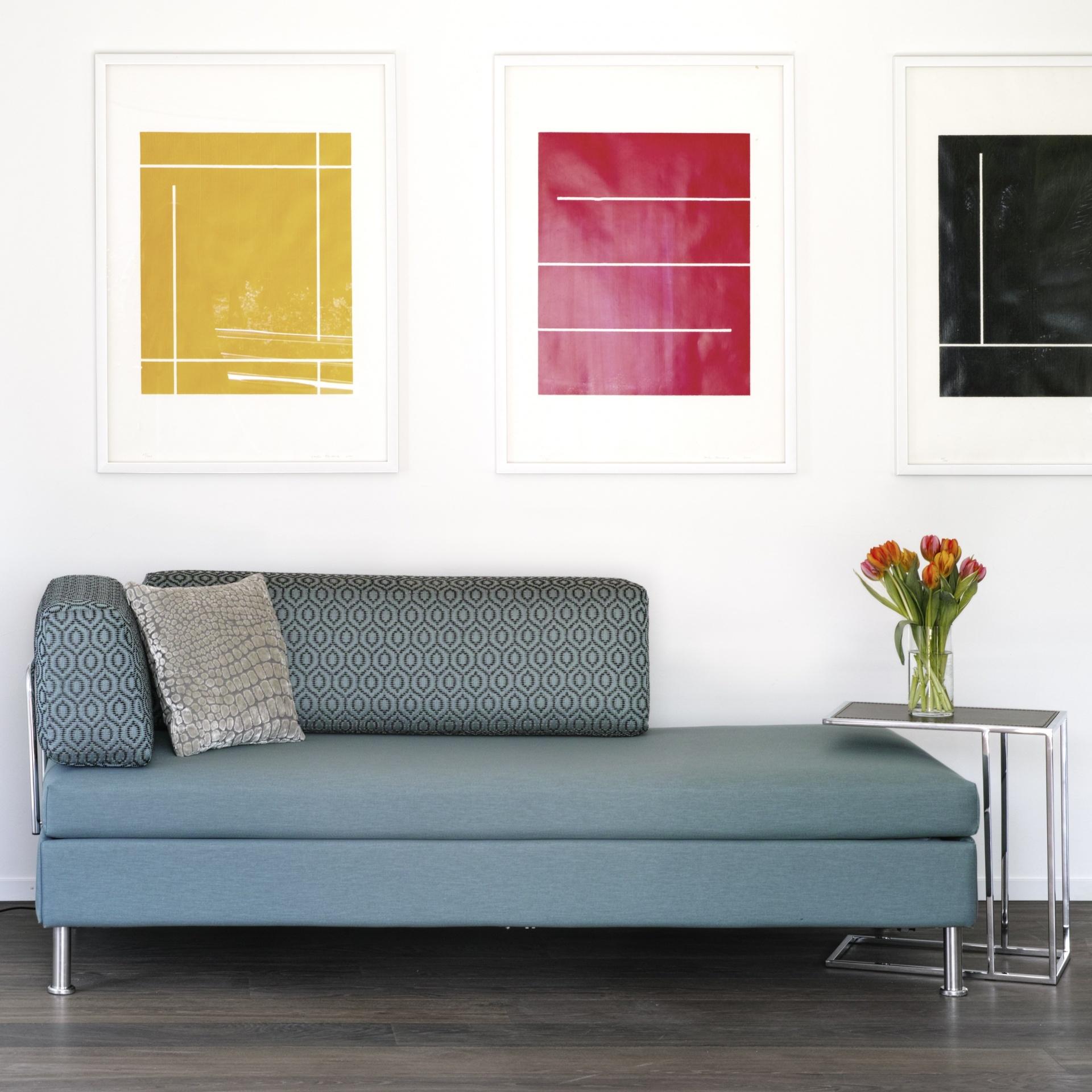 nur das beste f r die g ste wenn das wohnzimmer zum schlafzimmer. Black Bedroom Furniture Sets. Home Design Ideas