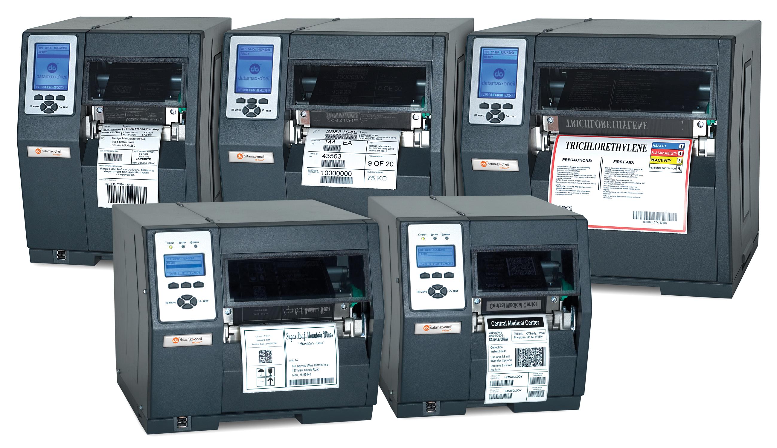 Einzeletikettendrucker