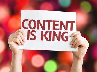 Bild Content is King