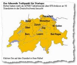 Venture-Apéro: Jeden Monat, in zehn Städten.