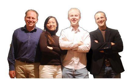 Housetrip-Gründer Arnaud Bertrand und sein Team (zvg)