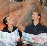 Yuan Yao und Jan Gerber von À la Carte Maps
