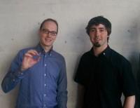 Thomas Fahrni und Samuel Welten (r.) von Bitsplitters