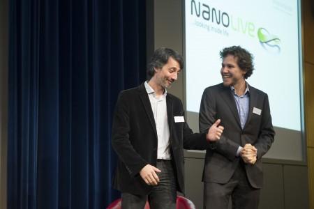 Die glücklichen Gewinner von Nanolive.
