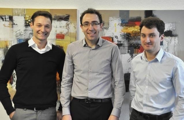 Martin Ostermaier (m.): «Dank Venture Kick haben wir unser Netzwerk zu Investoren erweitert.»