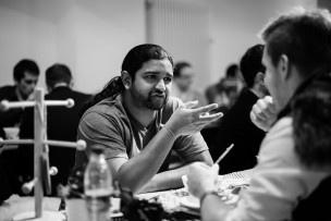 Intensiv wird über die Startup-Welt diskutiert. Bild: Mirjam Sonner.