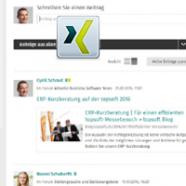 Wir sind auch auf XING zu finden, dem grössten Netzwerk im deutschsprachigen Raum