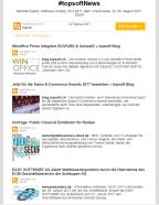 Der tägliche Newsletter von topsoft verbreitet die wichtigsten Neuigkeiten