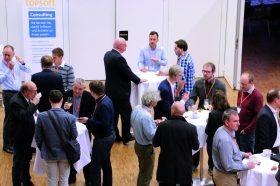 In den Pausen konnten die Besucher des topsoft Software Contests Kontakte knüpfen