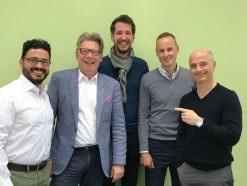 Informatec beteiligt vier langjährige Mitarbeiter am Unternehmen