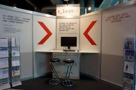 leanux.ch nimmt zum 10. Mal an der Fachmesse topsoft teil